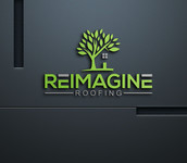 Reimagine Roofing Logo - Entry #143