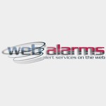 Logo for WebAlarms - Alert services on the web - Entry #184