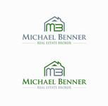 Michael Benner, Real Estate Broker Logo - Entry #125