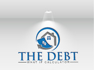 The Debt What If Calculator Logo - Entry #29