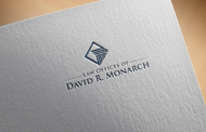 Law Offices of David R. Monarch Logo - Entry #169