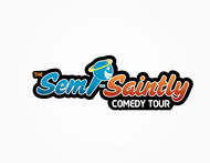 The Semi-Saintly Comedy Tour Logo - Entry #39