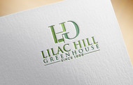 Lilac Hill Greenhouse Logo - Entry #12