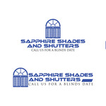 Sapphire Shades and Shutters Logo - Entry #50