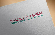 Twisted Turquoise Boutique Logo - Entry #78