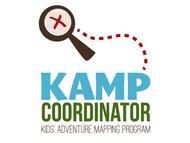 KAMPcoordinator : Kids' Adventure Mapping Program   Logo - Entry #35