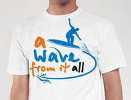 A Wave From It All Logo - Entry #25