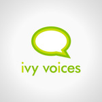 Logo for Ivy Voices - Entry #171