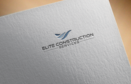 Elite Construction Services or ECS Logo - Entry #39