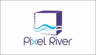 Pixel River Logo - Online Marketing Agency - Entry #7