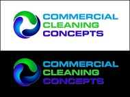 Commercial Cleaning Concepts Logo - Entry #49