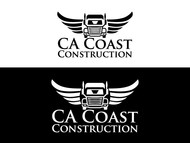 CA Coast Construction Logo - Entry #276