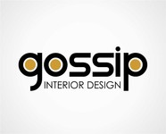 Gossip Interior Design Logo - Entry #80