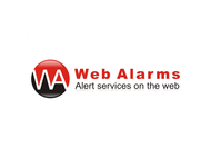 Logo for WebAlarms - Alert services on the web - Entry #87