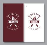 River Inn Bar & Grill Logo - Entry #52