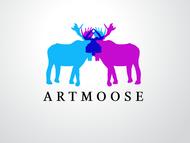 ArtMoose Logo - Entry #67