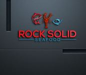 Rock Solid Seafood Logo - Entry #113
