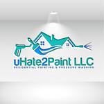 uHate2Paint LLC Logo - Entry #175