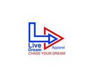 LiveDream Apparel Logo - Entry #218