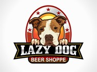 Lazy Dog Beer Shoppe Logo - Entry #3