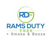 Rams Duty Free + Smoke & Booze Logo - Entry #137