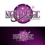 Night Magic Productions Logo - Entry #48
