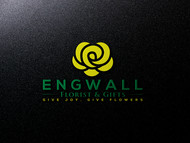 Engwall Florist & Gifts Logo - Entry #94
