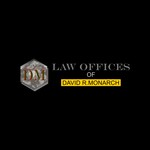 Law Offices of David R. Monarch Logo - Entry #46