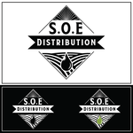 S.O.E. Distribution Logo - Entry #160
