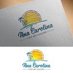 Ana Carolina Fine Art Gallery Logo - Entry #172