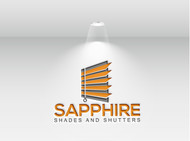 Sapphire Shades and Shutters Logo - Entry #19