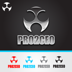 PRO2CEO Personal/Professional Development Company  Logo - Entry #8