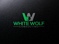 White Wolf Consulting (optional LLC) Logo - Entry #390