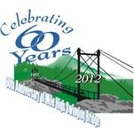 60th Anniversary of Mile High Swinging Bridge Logo - Entry #9