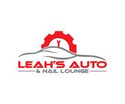 Leah's auto & nail lounge Logo - Entry #179