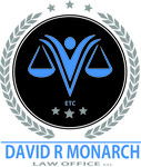 Law Offices of David R. Monarch Logo - Entry #241