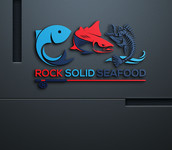 Rock Solid Seafood Logo - Entry #176