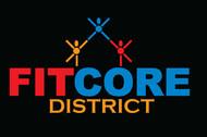FitCore District Logo - Entry #46