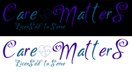 Care Matters Logo - Entry #149