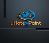 uHate2Paint LLC Logo - Entry #66