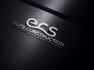 Elite Construction Services or ECS Logo - Entry #349