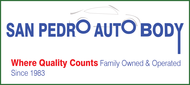 San Pedro Auto Body Logo - Entry #75