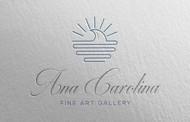 Ana Carolina Fine Art Gallery Logo - Entry #170