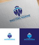 Masters Marine Logo - Entry #315