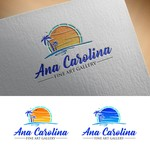 Ana Carolina Fine Art Gallery Logo - Entry #201