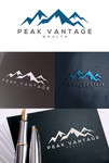 Peak Vantage Wealth Logo - Entry #100