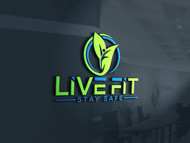 Live Fit Stay Safe Logo - Entry #100