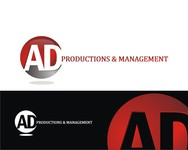 Corporate Logo Design 'AD Productions & Management' - Entry #39