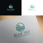 Blue Sky Life Plans Logo - Entry #165