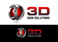3D Sign Solutions Logo - Entry #28